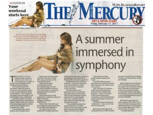 The Mercury 17 Feb A Summer immersed in symphony