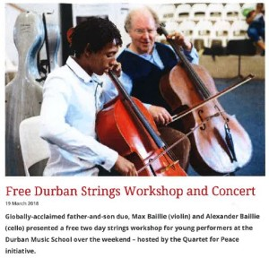 Strings workshop